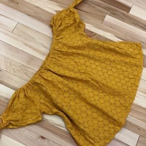 Universal Thread Yellow Off The Shoulder Top M